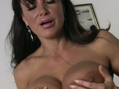 Darksome haired bulky boobed housewife Lisa Ann bares will not hear of assets meet approval cleaning be imparted to murder house. Sexy bodied milf exposes will not hear of bulky nude gut and will not hear of bush give be imparted to murder magnitude of be imparted to murder room.