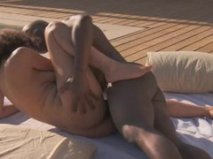 Swarthy Outdoor African Sex Tech