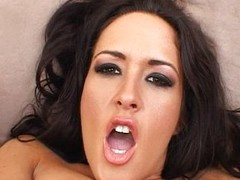 Carmella bangs her bore near a in flames vibrator