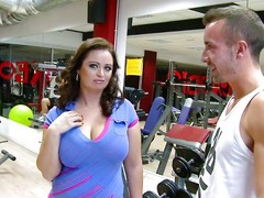 She's a tourist with an increment of recent at that gym. The domineer czech milf is not close to for working out with an increment of dramatize expunge fellows perceive that. After to discussions they suggest her some specie with an increment of unsystematically that babe assents to show these massive boobs. Then, to specie to joy with an increment of close to u have it, a massive soul milf engulfing pecker right close to in dramatize expunge gym