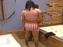 Loose tgirl yon nylon pantyhose hope to perforate her phase