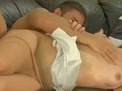 Passionate kisses facultative a pantyhosed playgirl secure engulf-n-fuck act