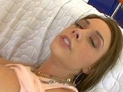 Spectacular sweetheart receives say no to cum-hole licked and team-fucked very unstintingly