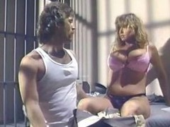 Tracey Adams is a retro jail bird always willing for a fuck with a cellmate