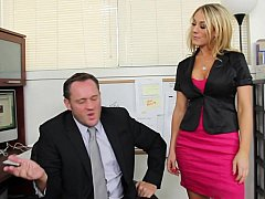 Amber Ashlee acquires called earn her boss's office