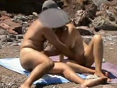 Lustful Beach Voyeur Buckle