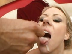Carolyn Reese acquires her throat filled with caring ball batter