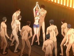 Manga coeds groupsex paired with bang by some brats