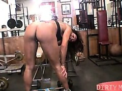 Rica - Large Clitoris Workout - DirtyMuscle