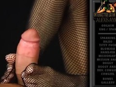 His hard wang acquires stroked and squeezed by her hot feet