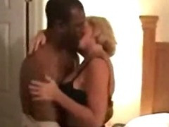 Concupiscent housewife can't live without to pleasure from chunky dark load of shit
