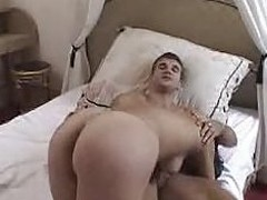 French Layman Brunette hair receives say no to 1st anal...F70