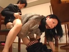 Juvenile wife with an increment of youthful mother in-law scene 1(censored)