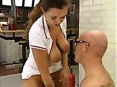 The psychiatrist enjoys body his patients group sex