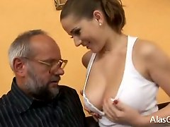 Intimate Peculiar Teacher Gives Lessons In Sex