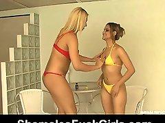 Angel&Amanda ladyman screwing angel on movie