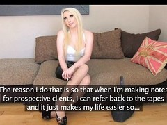 Filthy tow-headed bombshell makes him pay to enactment