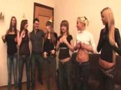 Russian students having an fuckfest