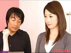 Japanese AV Whittle receives drilled