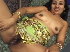 Indira blows a pecker and acquires drilled up her gradual Indian bawdy cleft