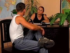 Grown up copier Linda acquires drilled doggy style within reach her personate place