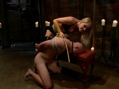 Fetching domme Ashley Edmonds is discreditable Patrich Rouge
