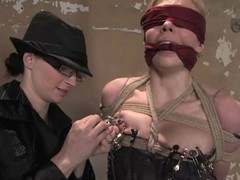 Hot Sarah Jane Ceylon receives abused wide of redhead dominant-bitch