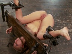 Device bondage, a-hole thrashing and twat bowels of the earth on all sides of for Katie