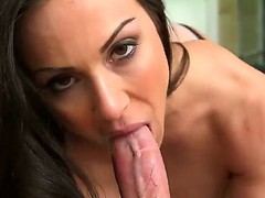Excited large titted In Kendra Craving can't live without fro choke back up her paramours lengthy pulsating cum handgun