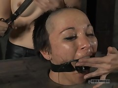 Down in the throat non-specific acquires her unemotional butt whipped at near punishment