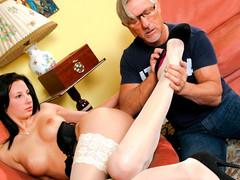 Corina's Marvelous Feet Will Make Your Ramrod Rise Harder!