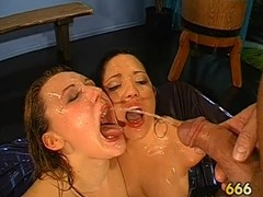 Amazing darling gives moist oral-service with astonishing dutch have sex