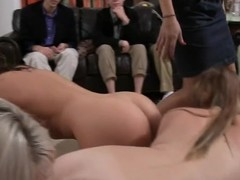 Explicit and wild gungy crack playing with awesome dykes
