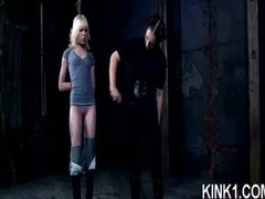 Mean Call-girl Disciplined in Servitude