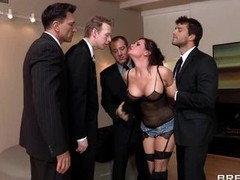 Hawt whore Tory Lane gobbles fro those lustful rods